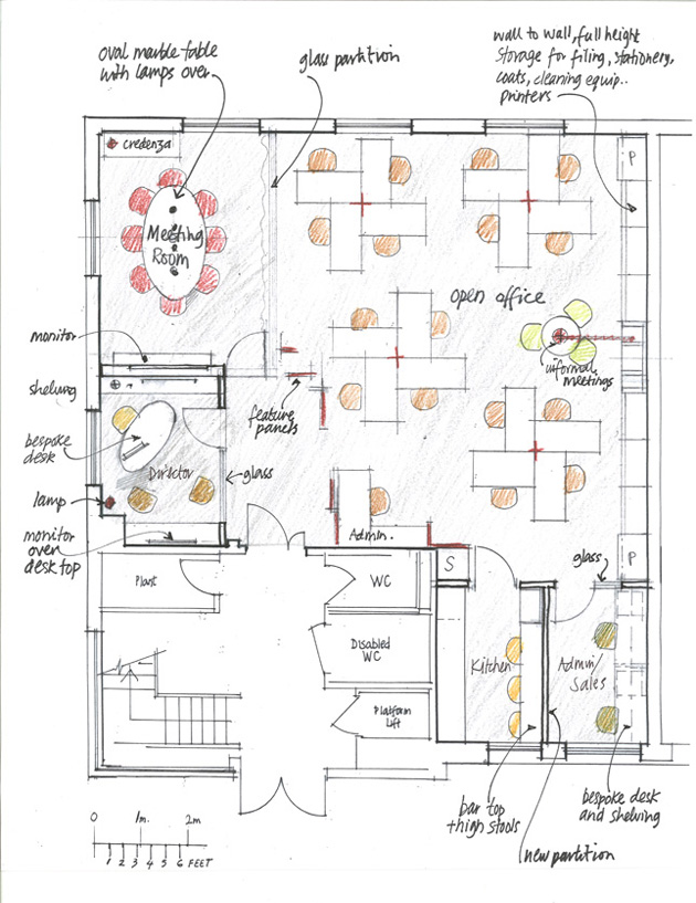 Right angles business park lee design - Small event space brooklyn plan ...